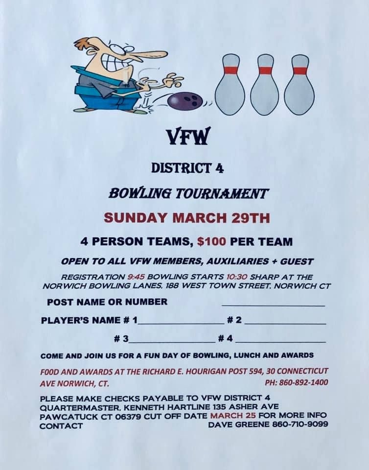 District 4 Bowling Tournament