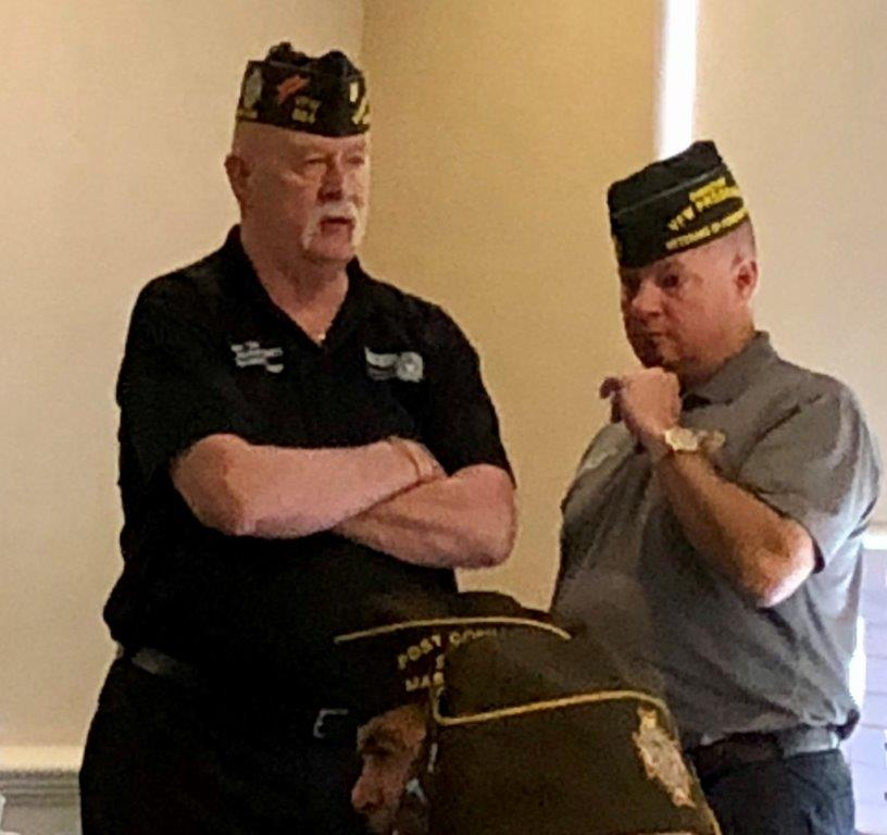 Membership Training in Mass. that 26 Connecticut VFW members attended. There was at least 1 person from each of the 12 states in the eastern conference there.  It went well and was very informative. Jr. Vice Commander-in-Chief